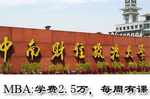 中南财经政法大学MBA上海班